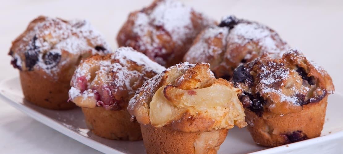 mini muffin selection
